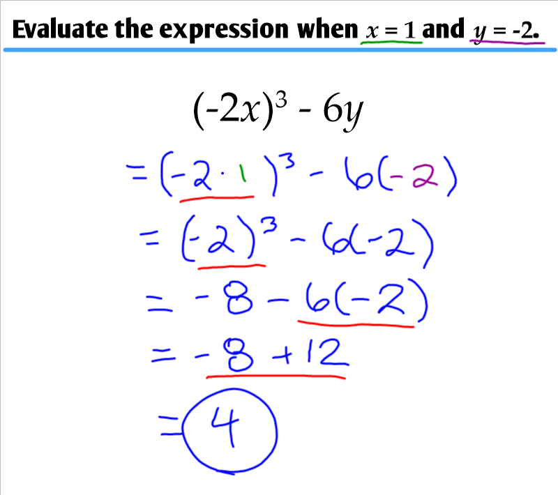 1.2 - Order of Operations - Ms. Zeilstra's Math Classes
